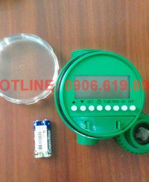 Van nước hẹn giờ tự động dùng pin