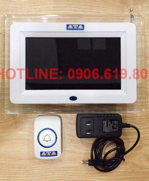 Hệ thống chuông gọi phục vụ không dây ATA quán karaoke, massage, nhà hàng, xông hơi