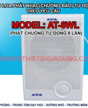 Bộ Loa phát nhạc tự động báo giờ AT-8WL
