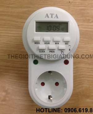 Ổ cắm hẹn giờ kỹ thuật số ATA AT-08C