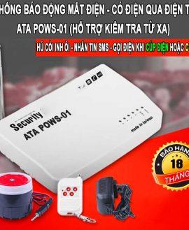 Máy báo cúp điện qua điện thoại tin nhắn sms POWS-01