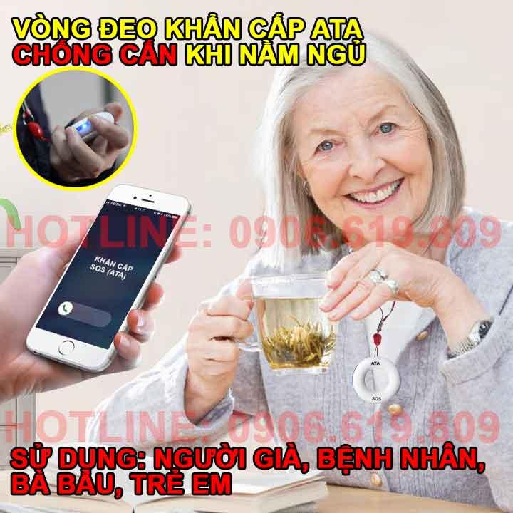 Máy báo khẩn cấp cho người già qua điện thoại SOS 01