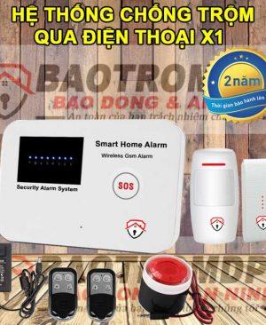 Hệ thống báo trộm không dây thông minh cho gia đình DPE X1